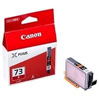 (まとめ) キャノン Canon インクタンク PGI-73R レッド 6400B001 1個 【×5セット】