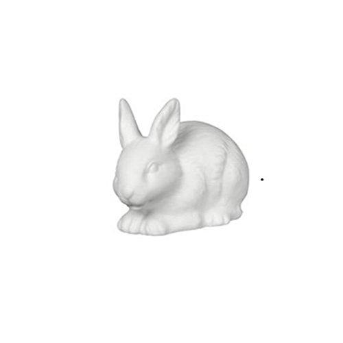 ウッドランドTwilights磁器LED常夜灯–Bunny