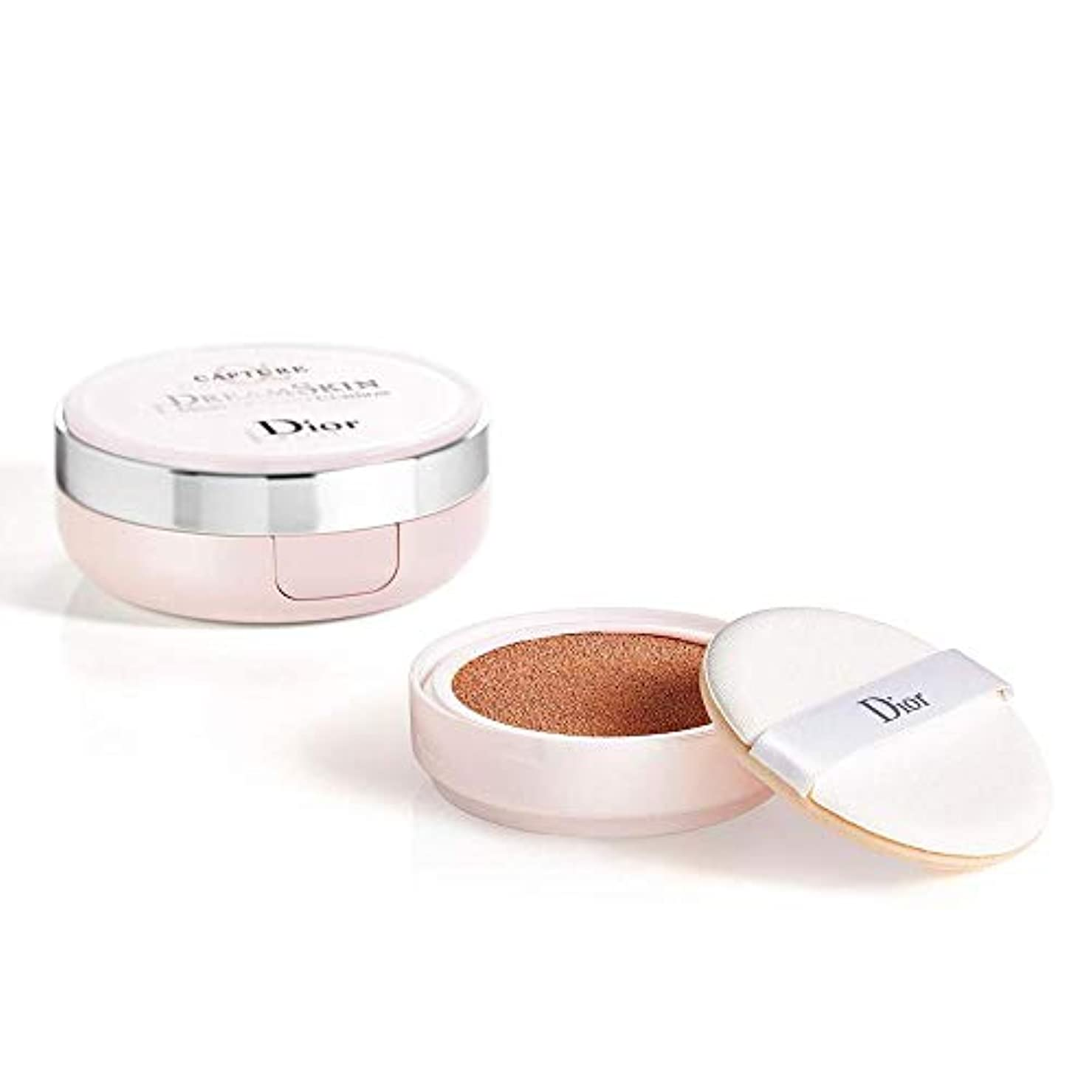 なしでランチくつろぐクリスチャンディオール Capture Dreamskin Moist & Perfect Cushion SPF 50 With Extra Refill - # 030 (Medium Beige 2x15g/0.5oz...