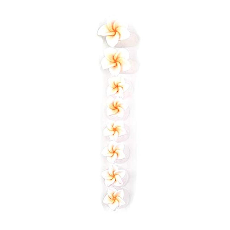 ひまわり実装する育成8ピース/セットシリコンつま先セパレーター足つま先スペーサー花形ペディキュアDIYネイルアートツール-カラフル01#