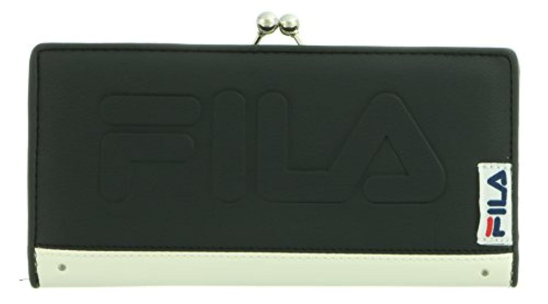 [フィラ] がまぐち長財布 エンボスロゴ FIMS-0013