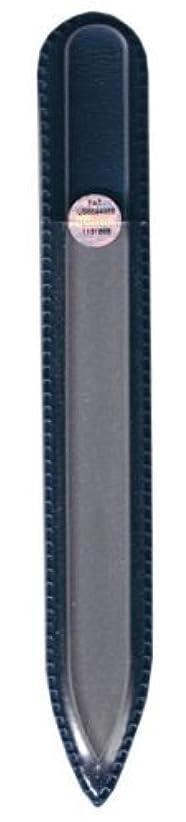 美的リボン橋脚ブラジェク ガラス爪やすり 140mm 片面タイプ(プレーン)