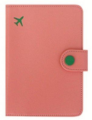 パスポートケース スキミングブロック  MINI JOURNEY NO SKIMMING passport 16458 (ORANGE PINK)