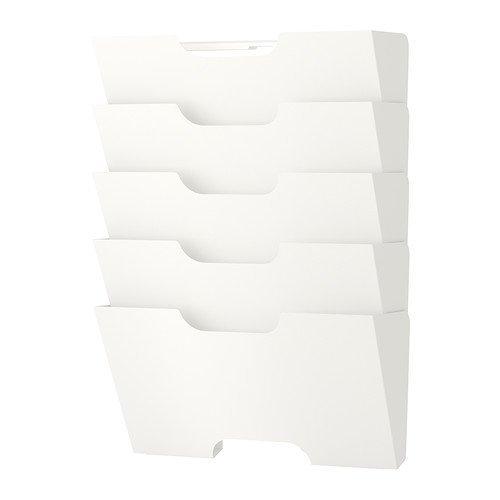 RoomClip商品情報 - IKEA(イケア) KVISSLE 40198018 ウォール 新聞ラック, ホワイト