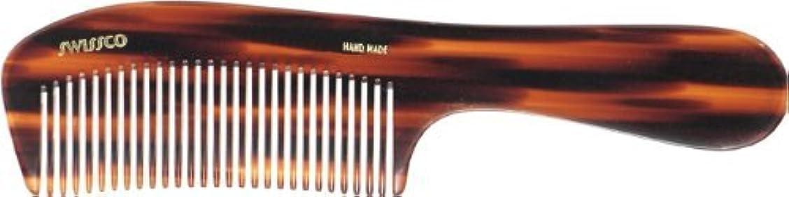 ガラガラ過剰圧縮されたSwissco Tortoise Handle Comb [並行輸入品]
