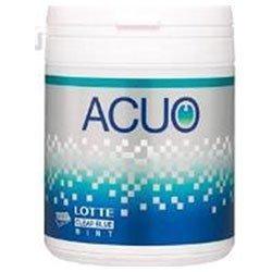 ロッテ ACUO(アクオ) クリアブルーミント ファミリーボトル 140g×6個入