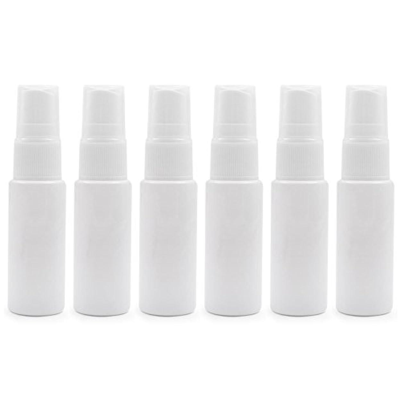 他にボートジュニア6 PCS Aspire透明プラスチックスプレーボトル 旅行 クリーニング エッセンシャルオイル マウスウォッシュ 香水(10ml 20ml)のための携帯用詰め替え可能な香水瓶スプレー - ホワイト - 20 ml