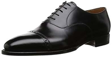[エンツォボナフェ] パンチドキャップトウ  3773 BLACK ブラック UK 6(24.5cm)