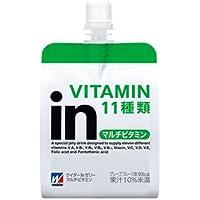 森永製菓 ウイダーinゼリー マルチビタミン グレープフルーツ味 180g x 36セット