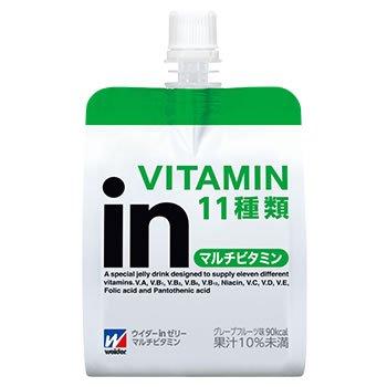 森永製菓 ウイダーinゼリー マルチビタミン グレープフルー...