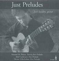 Just Preludes: Jack Sanders, Guitar