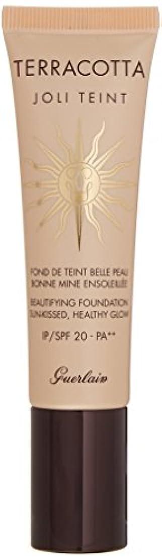 確認する徒歩で賭けゲラン Terracotta Joli Teint Beautifying Foundation SPF 20 - # Light 30ml