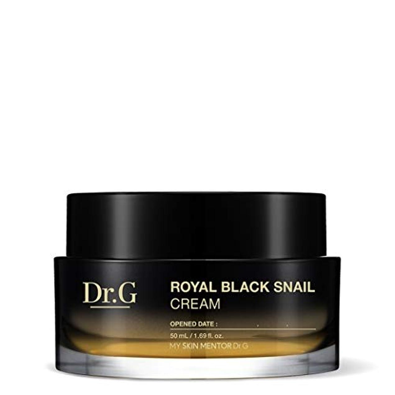 簿記係リス地上で[Dr.Gドクタージー] ロイヤルブラックスネイルクリーム 50ml / Royal Black Snail Cream