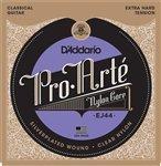 D'Addario ダダリオ Guitar Strings | Classical | 3 Pack | EJ44 Pro-Arte Nylon, Extra Hard アコースティックギター アコギ ギター (並行輸入)
