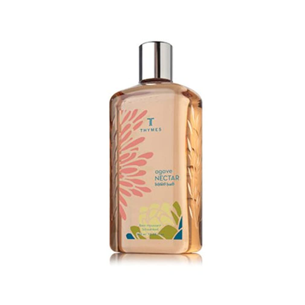地下鉄テキストオーバーヘッドTHYMES タイムズ バブルバス 360ml アガベネクター Bubble Bath 12.25 fl oz Agave Nectar [並行輸入品]