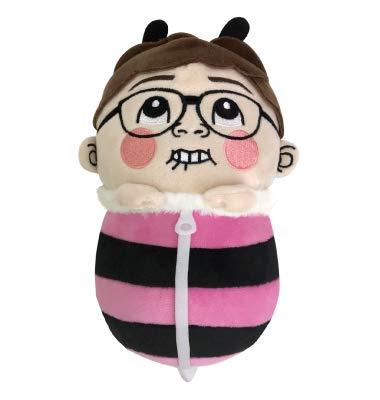 モーリーファンタジー限定 YouTuber ヒカキン HIKAKIN ブンブンみつばちぬいぐるみ ピンク
