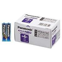 パナソニック EVOLTA NEO アルカリ乾電池 単4形 40本パック LR03NJN/40S 〈簡易梱包