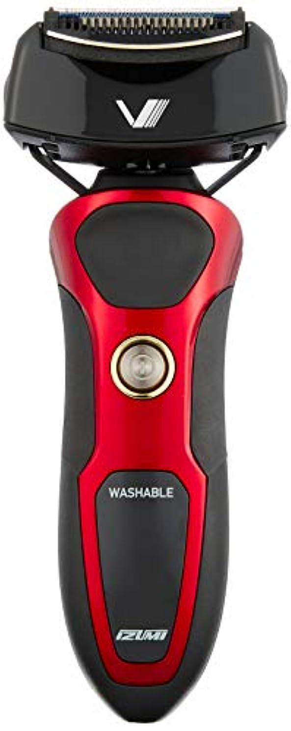 耳軽減する勝つIZUMI VIDAN 往復式シェーバー 深剃りシリーズ 4枚刃 レッド IZF-V86-R