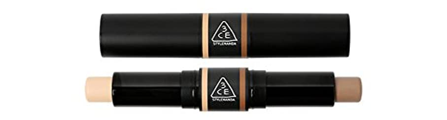メッセンジャー生きるログ3CE (3 CONCEPT EYES) 3CE DUO CONTOUR STICK (01)
