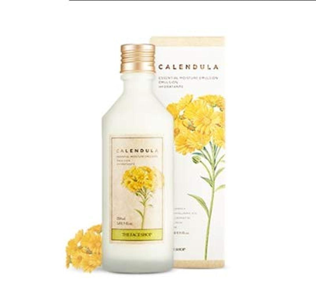 霜白鳥暖かくTHE FACE SHOP Calendula Essential Moisture Emulsion ザ?フェイスショップカレンデュルラエッセンシャルモイスチャーエマルジョン [並行輸入品]