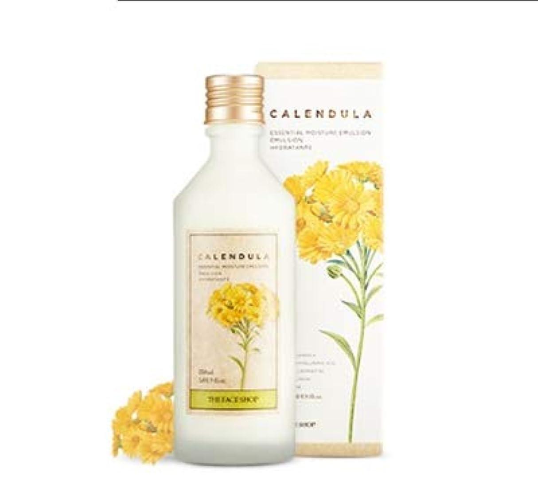 契約安価なクライストチャーチTHE FACE SHOP Calendula Essential Moisture Emulsion ザ?フェイスショップカレンデュルラエッセンシャルモイスチャーエマルジョン [並行輸入品]