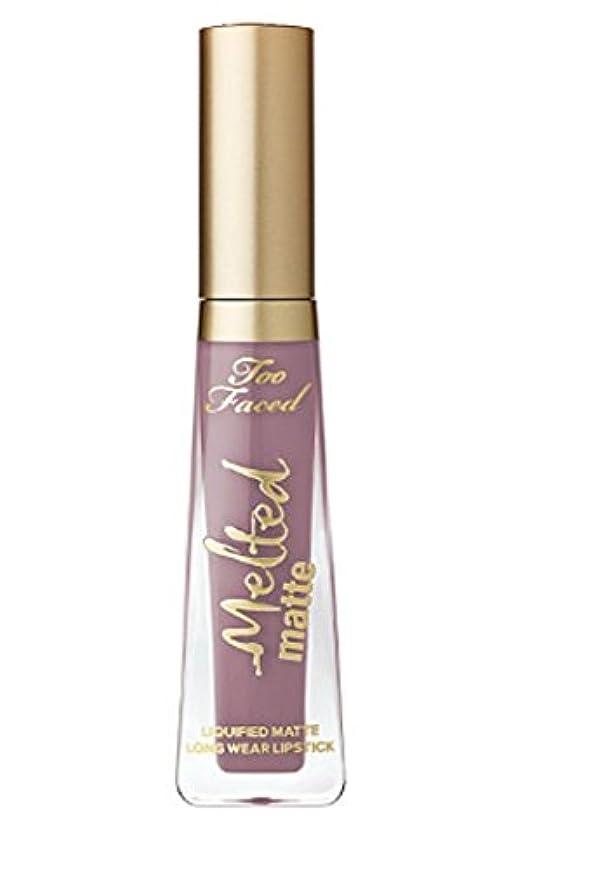 机モトリー機関車TOO FACED Melted Matte Liquified Long Wear Matte Lipstick (Granny Panties)