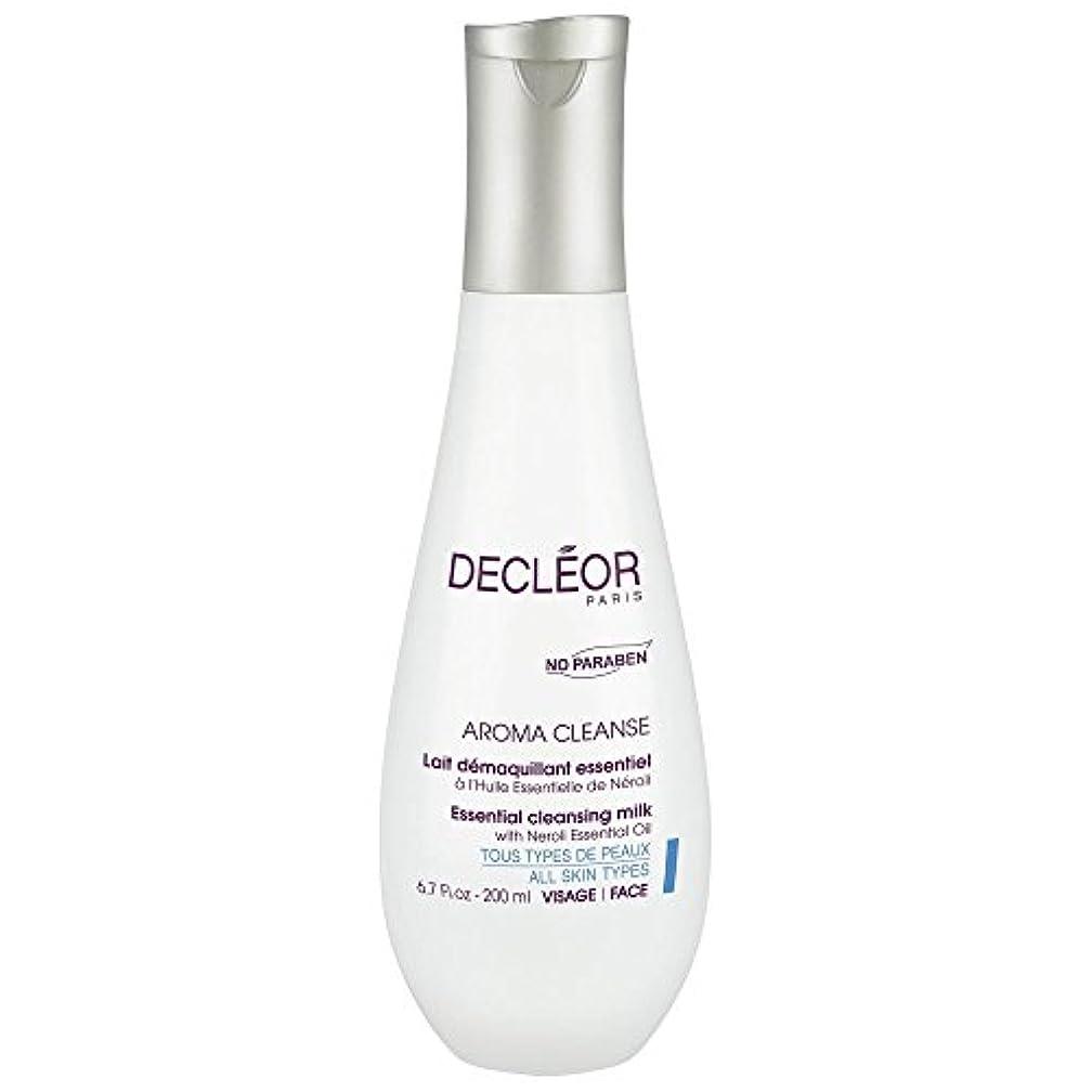 ドライ終わらせるピアース[Decl?or] ネロリエッセンシャルオイル、200ミリリットルとデクレオール不可欠なクレンジングミルク - Decl?or Essential Cleansing Milk With Neroli Essential...