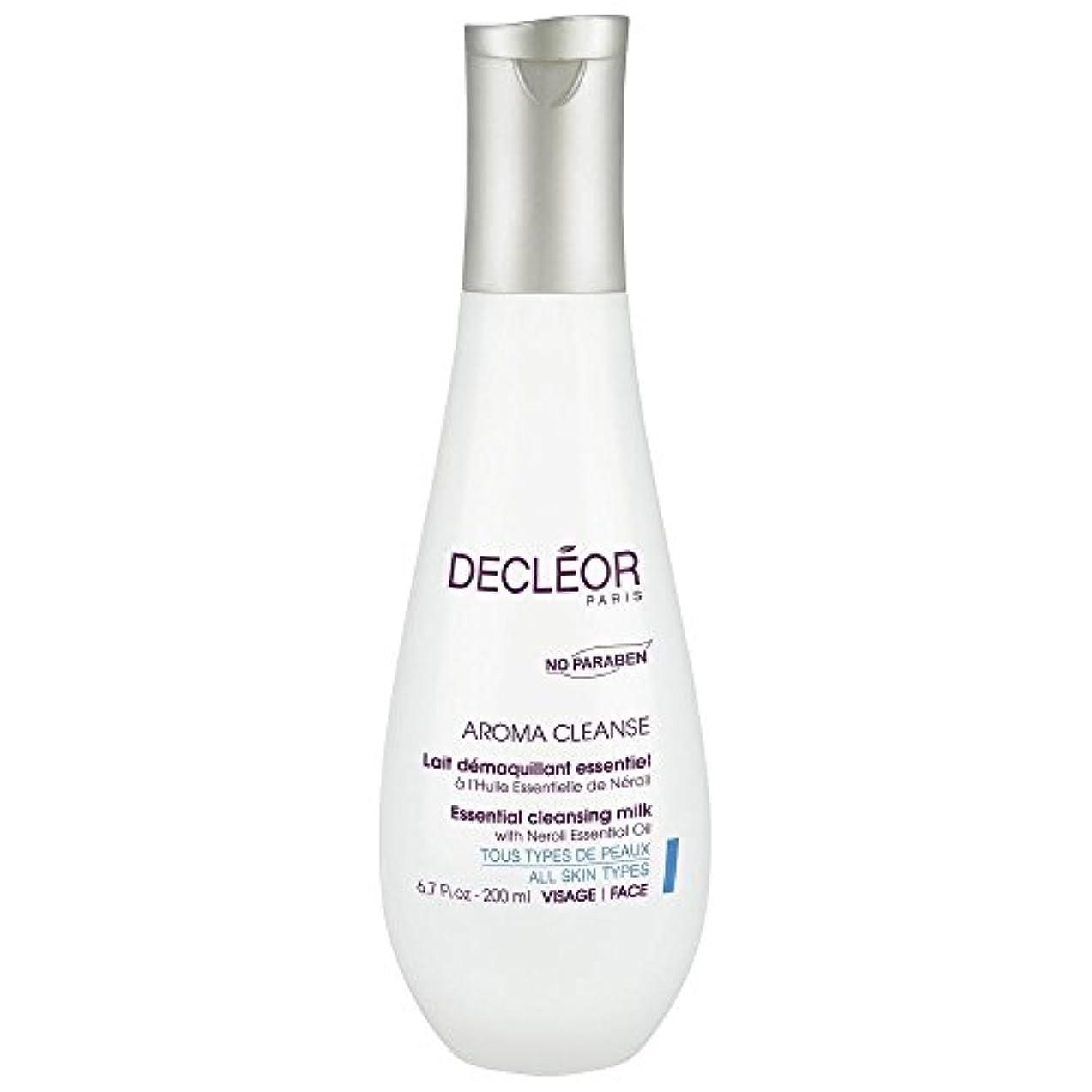 アーク巧みな残基[Decl?or] ネロリエッセンシャルオイル、200ミリリットルとデクレオール不可欠なクレンジングミルク - Decl?or Essential Cleansing Milk With Neroli Essential...