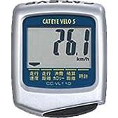 キャットアイ(CAT EYE) サイクルコンピュータ ベロ5 シルバー CC-VL110