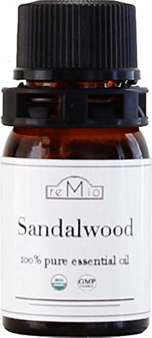不正弁護士作動するオーガニック サンダルウッドオイル(3ml)