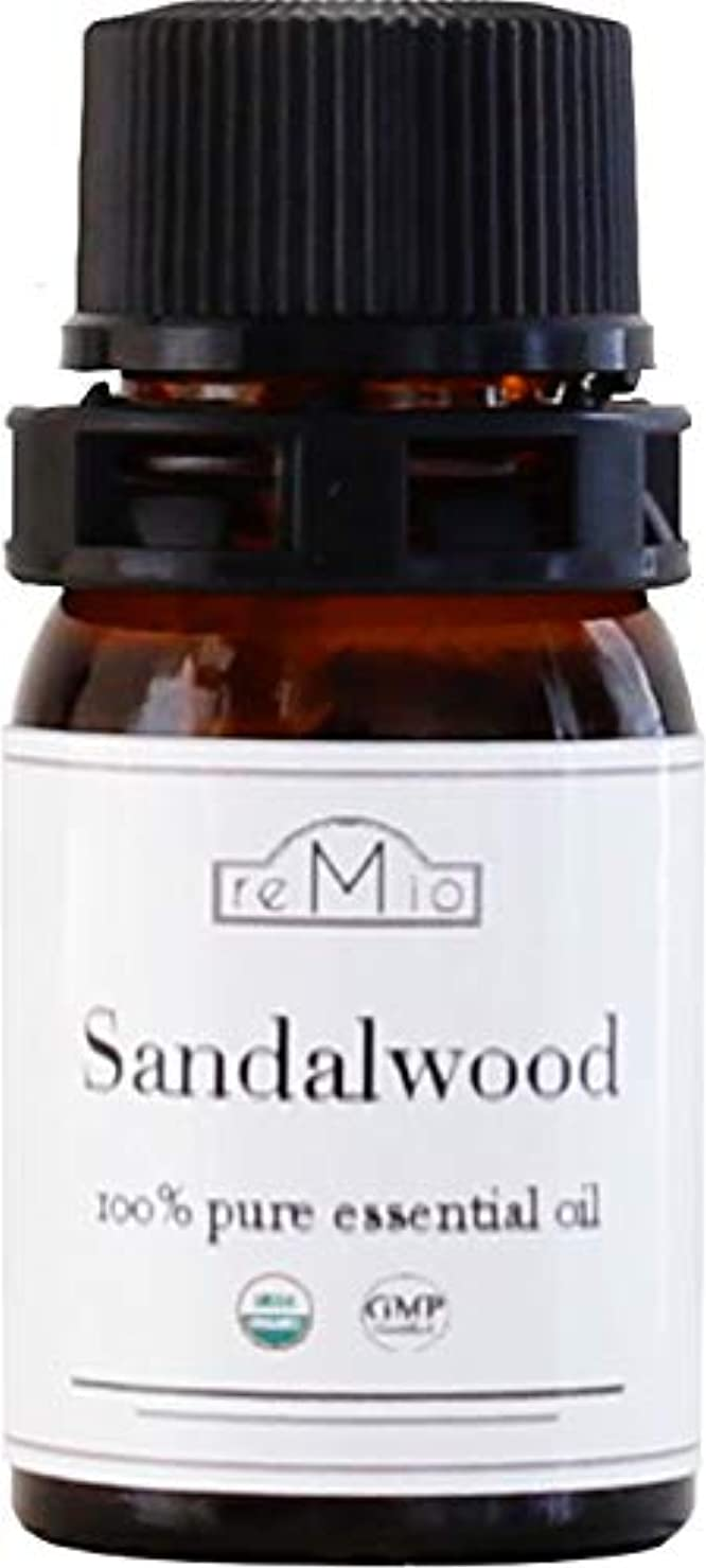 老朽化したマイルレトルトオーガニック サンダルウッドオイル(3ml)