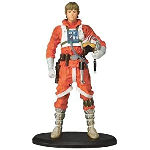Star Wars (スターウォーズ) LUKE SKYWALKER as X-WING PILOT STATUE by ATTAKUS フィギュア おもちゃ 人形 (並行輸入)