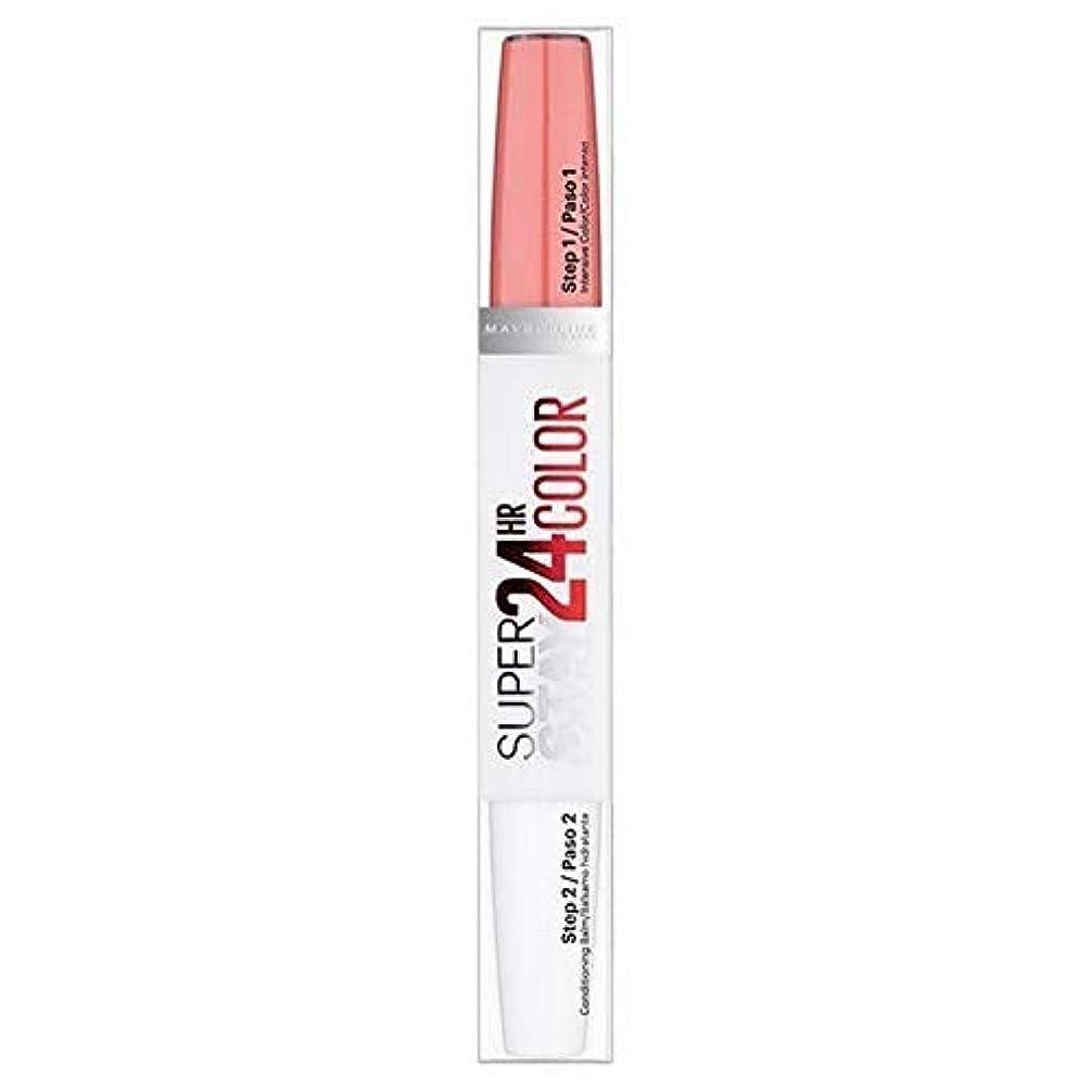 中で死んでいる進化する[Maybelline ] メイベリンSuperstay 24時間口紅自然フラッシュ - Maybelline Superstay 24HR Lipstick Natural Flush [並行輸入品]