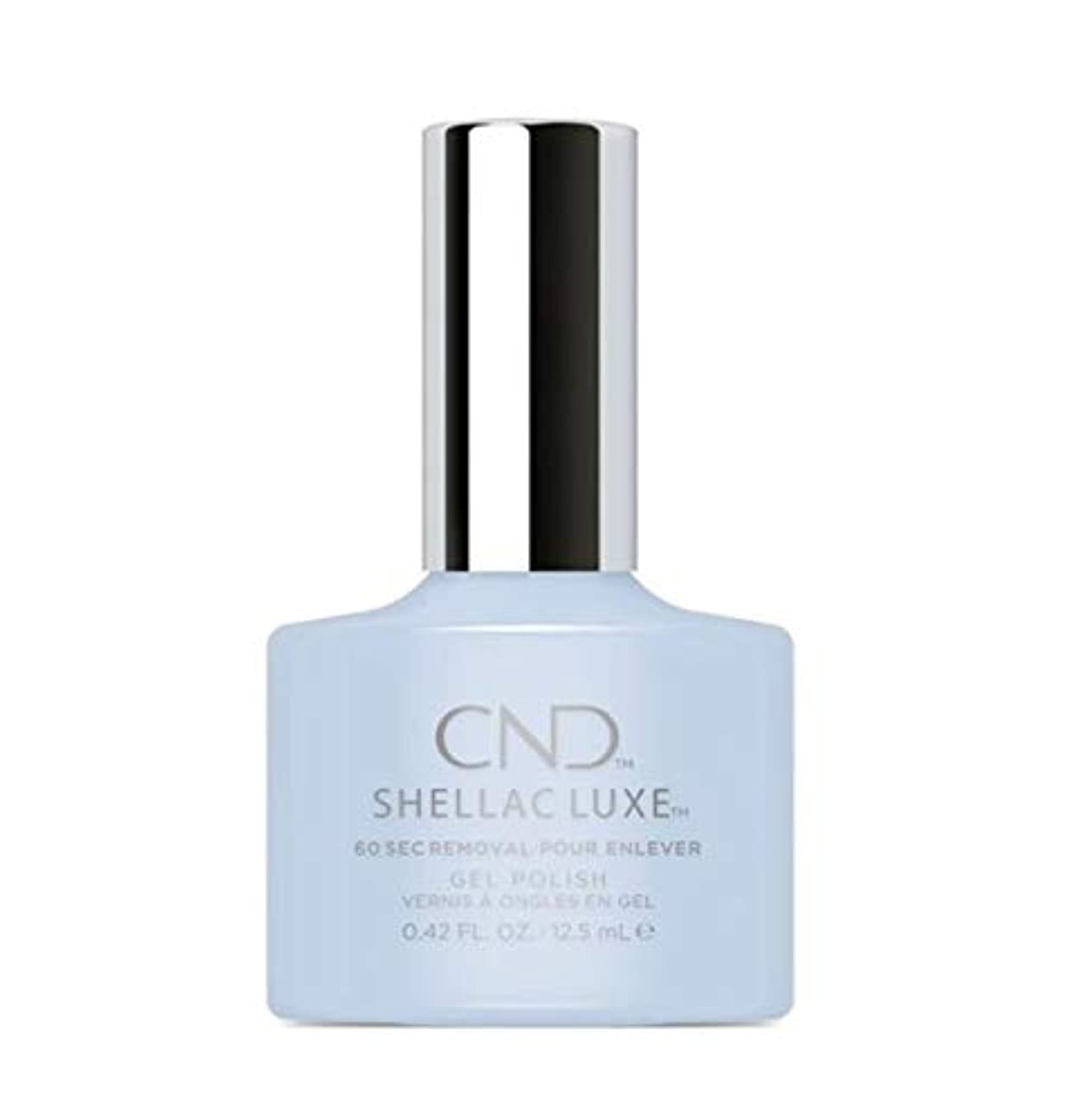 マークダウンフェード正気CND Shellac Luxe - Creekside - 12.5 ml / 0.42 oz