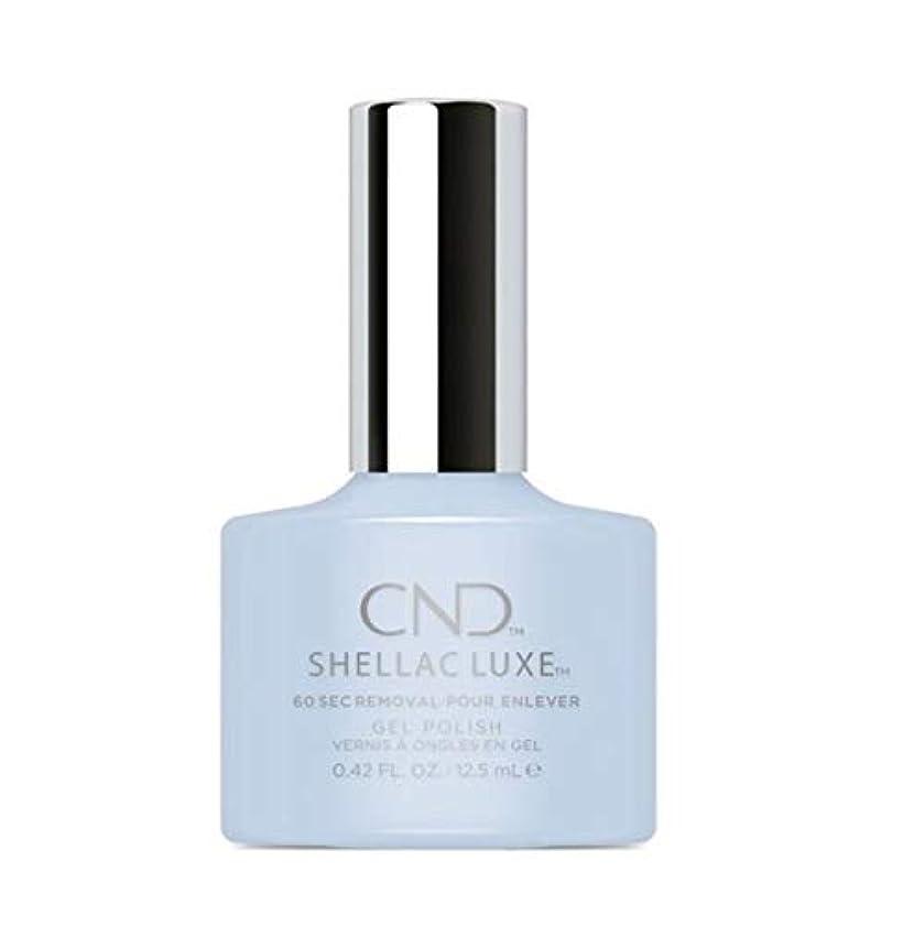 合図省成熟したCND Shellac Luxe - Creekside - 12.5 ml / 0.42 oz