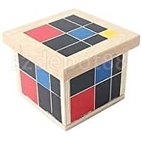 Montessori Teaching Material三項式キューブセットBoys Girls木製玩具ギフト