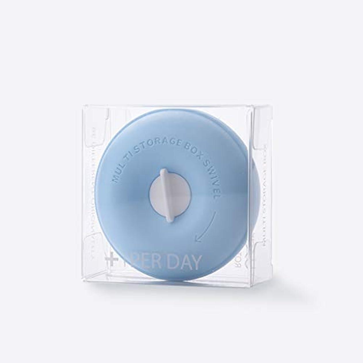 奨励疼痛石灰岩家庭用薬箱ピルボックスポータブル小型薬箱薬収納ボックスピル調剤箱カプセルビタミンヘルスケア箱 LIUXIN (Color : Blue, Size : 8cm×3.3cm)