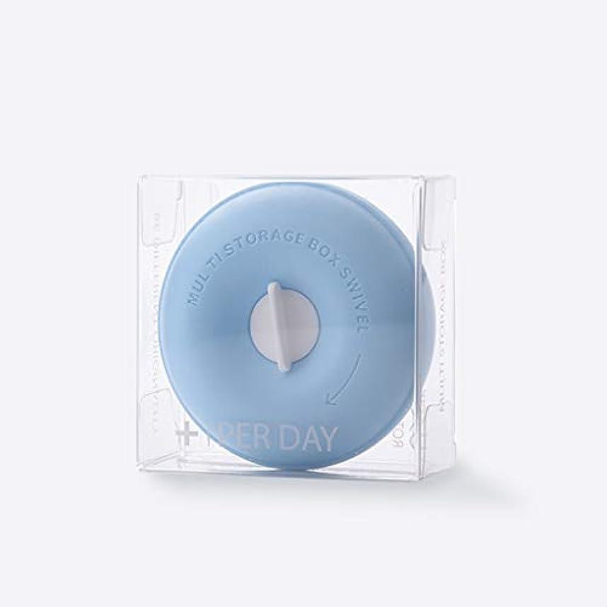 誤解を招く障害落胆させる家庭用薬箱ピルボックスポータブル小型薬箱薬収納ボックスピル調剤箱カプセルビタミンヘルスケア箱 薬箱 (Color : Blue, Size : 8cm×3.3cm)