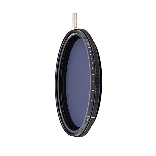 NiSi NDフィルター Pro Nano ND-VARIO エンハンスド可変NDフィルター 1.5-5段減光 55mm
