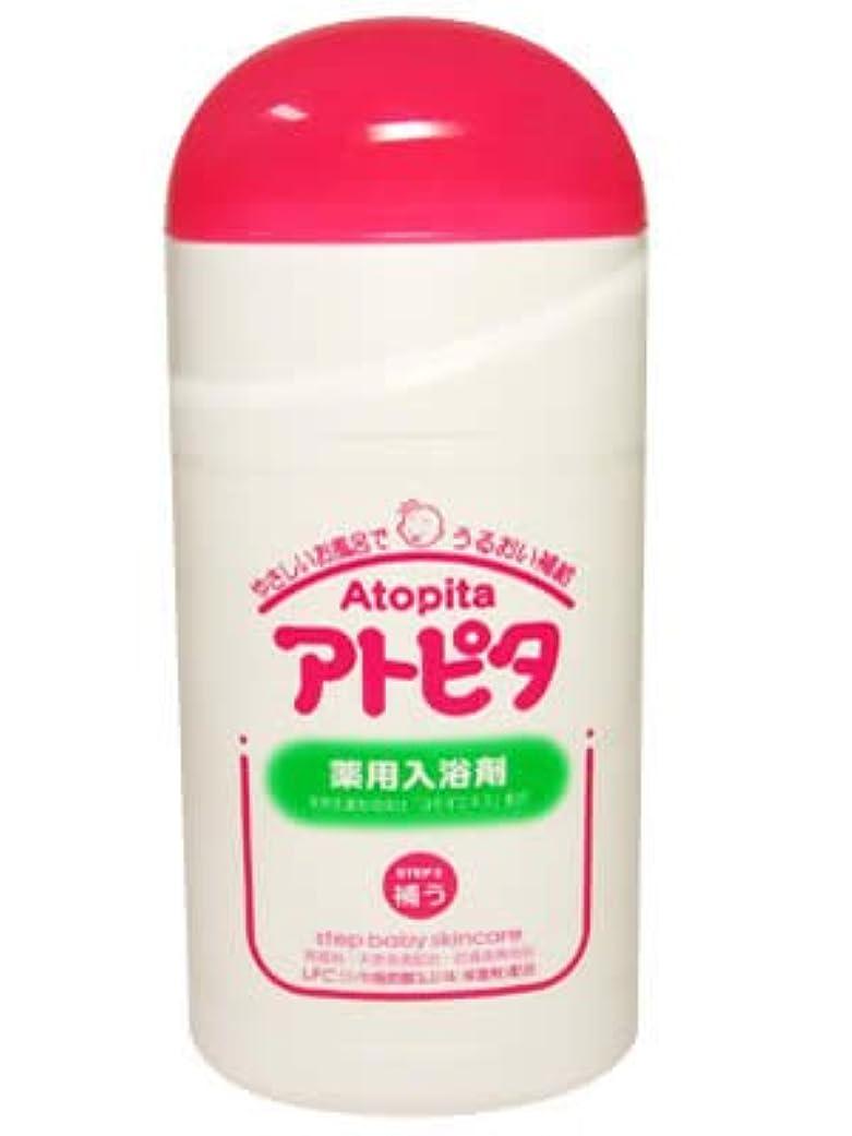 ログバス国旗新アルエット アトピタ 薬用入浴剤 500g ×10個セット