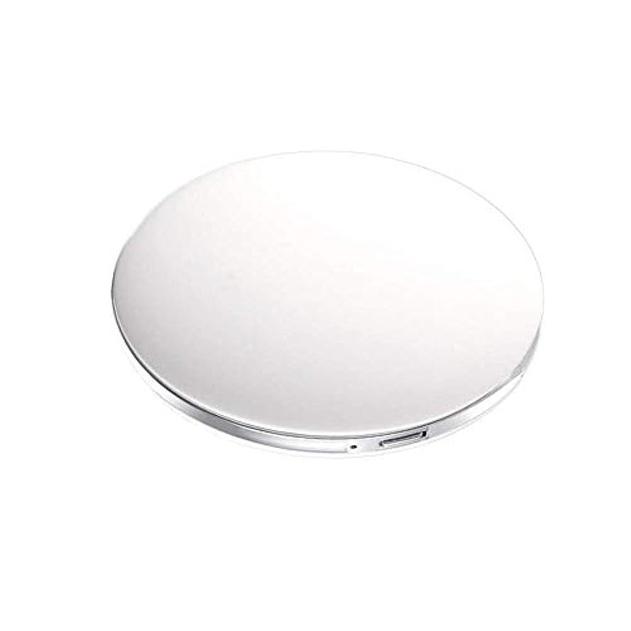 スタジアムさびた消毒するハンドミラー 携帯ミラー LED 充電メイク ポケット 旅行 ベルサイユ ボヘミア サンシャイン 化粧鏡携帯型 折り畳み式 コンパクト鏡 外出に 持ち運び便利 超軽量 おしゃれ