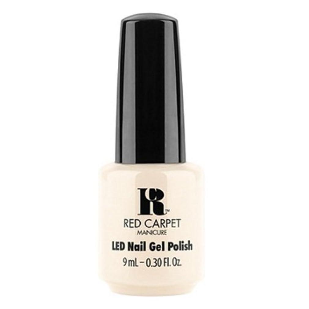 愛されし者旋律的プランターRed Carpet Manicure - LED Nail Gel Polish - First Looks - 0.3oz / 9ml
