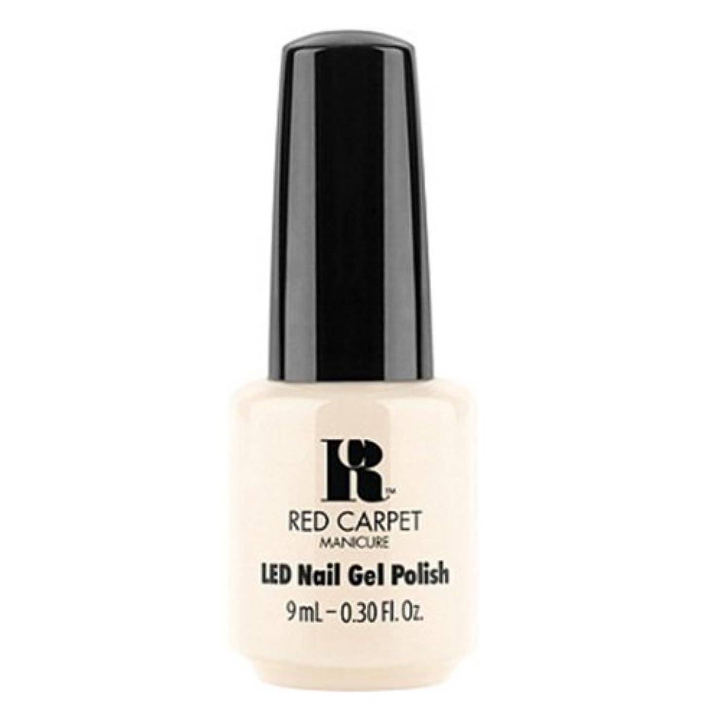 影響器官窒息させるRed Carpet Manicure - LED Nail Gel Polish - First Looks - 0.3oz / 9ml