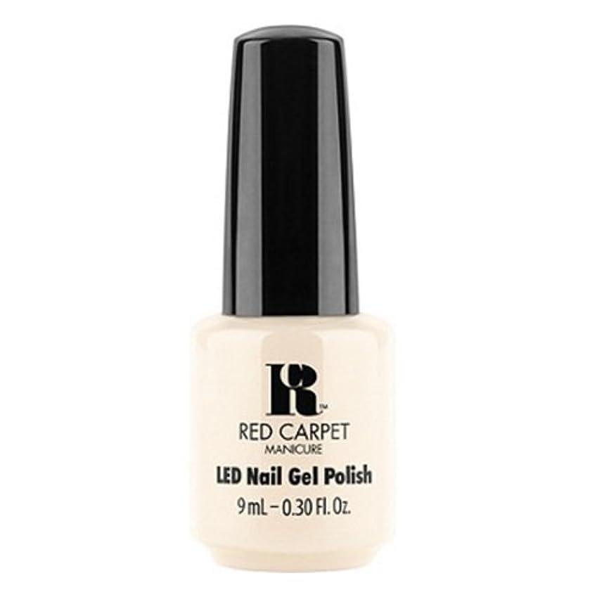 プラカード溶接明快Red Carpet Manicure - LED Nail Gel Polish - First Looks - 0.3oz / 9ml