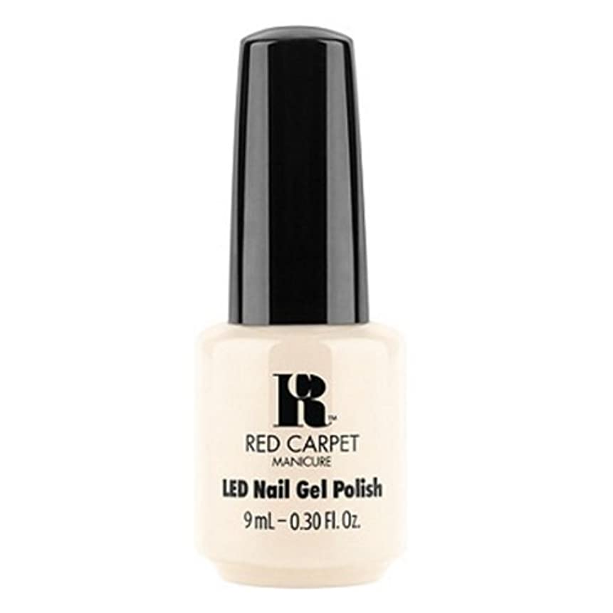 落ち着いた立場トレースRed Carpet Manicure - LED Nail Gel Polish - First Looks - 0.3oz / 9ml