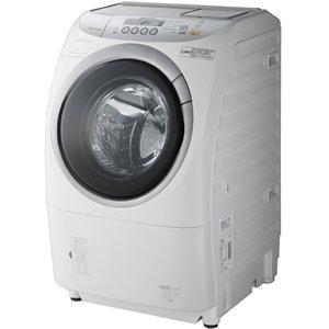 パナソニック 9.0kg ドラム式洗濯乾燥機【左開き】ジェットDancing NA-VR3500L-W