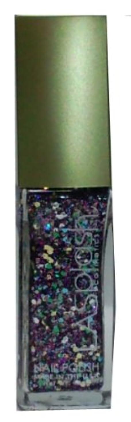 スケッチラメ散逸LASplash ネイルカラー 198 Mardi Gras