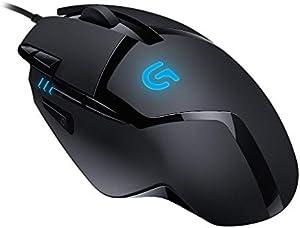 Logitech G402 Mouse ロジテック ゲーミング ブラック USB 有線 FPS RGB マウス