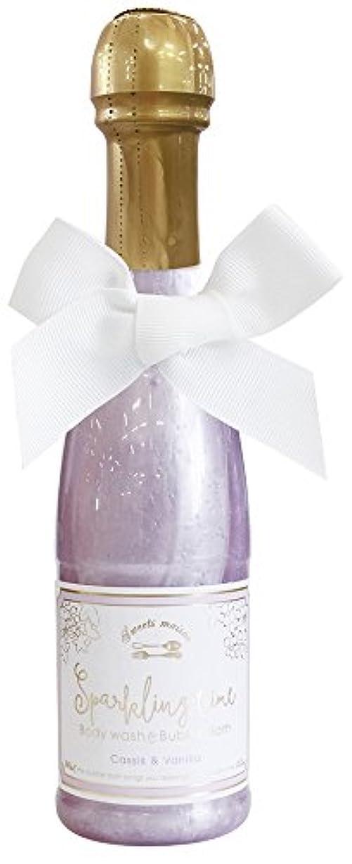 無視誤かすれたノルコーポレーション 入浴剤 バブルバス スパークリングタイム カシス&バニラの香り 240ml OB-SMM-38-2