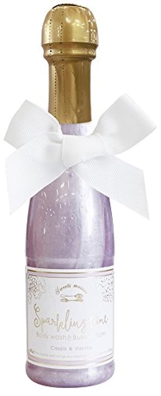 申し立てるリマ虐殺ノルコーポレーション 入浴剤 バブルバス スパークリングタイム カシス&バニラの香り 240ml OB-SMM-38-2